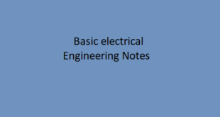 Basic Electrical Engineering Notes
