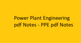 Power Plant Engineering pdf Notes